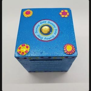 Claire's Wish Coin Bank 2001 Blue